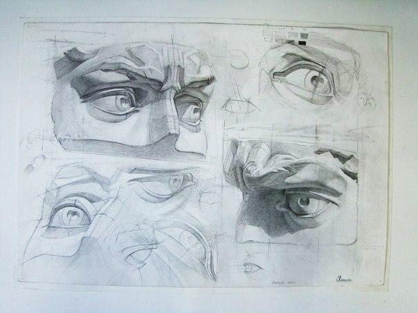 Котова Катя. Части лица. Учебный ...: vk.com/wall-61333154_56