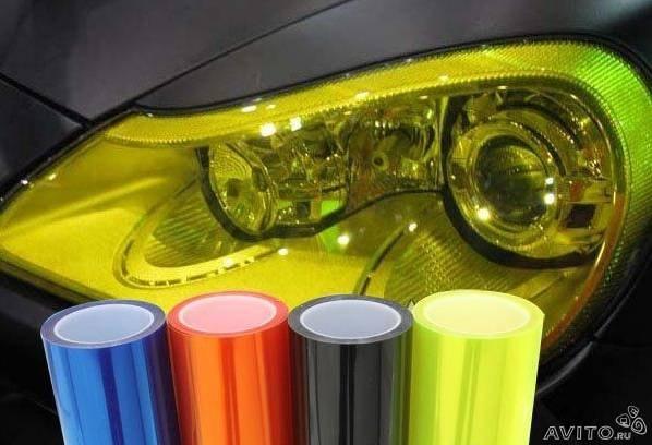 Цветная защитная пленка для фар - 8 Марта 2015 - Blog - Urvfoxv
