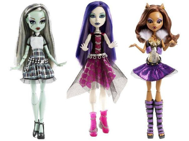 куклы монстр хай монстрические мутации все