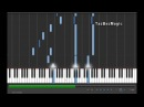 Naruto - Sadness and Sorrow (Piano Tutorial)