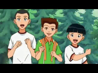 The Prince of Tennis TV-1 / Принц тенниса ТВ-1 015 {Sahawk}