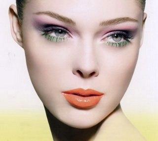 Вечерний макияж на глазах