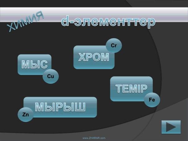 Қазақша презентация (слайд): Химия | Мыс