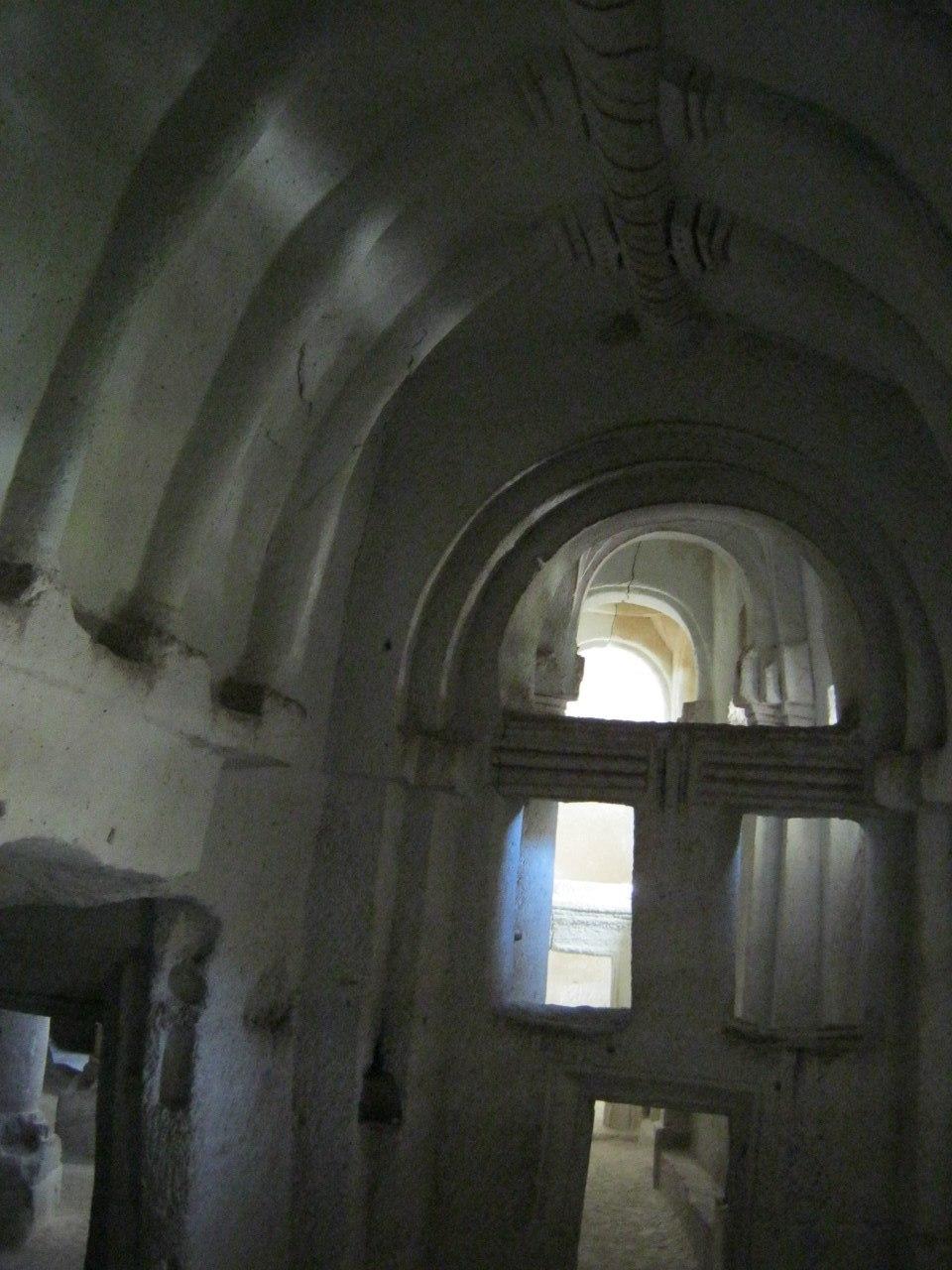 Одна из пещерных церквей Каппадокии