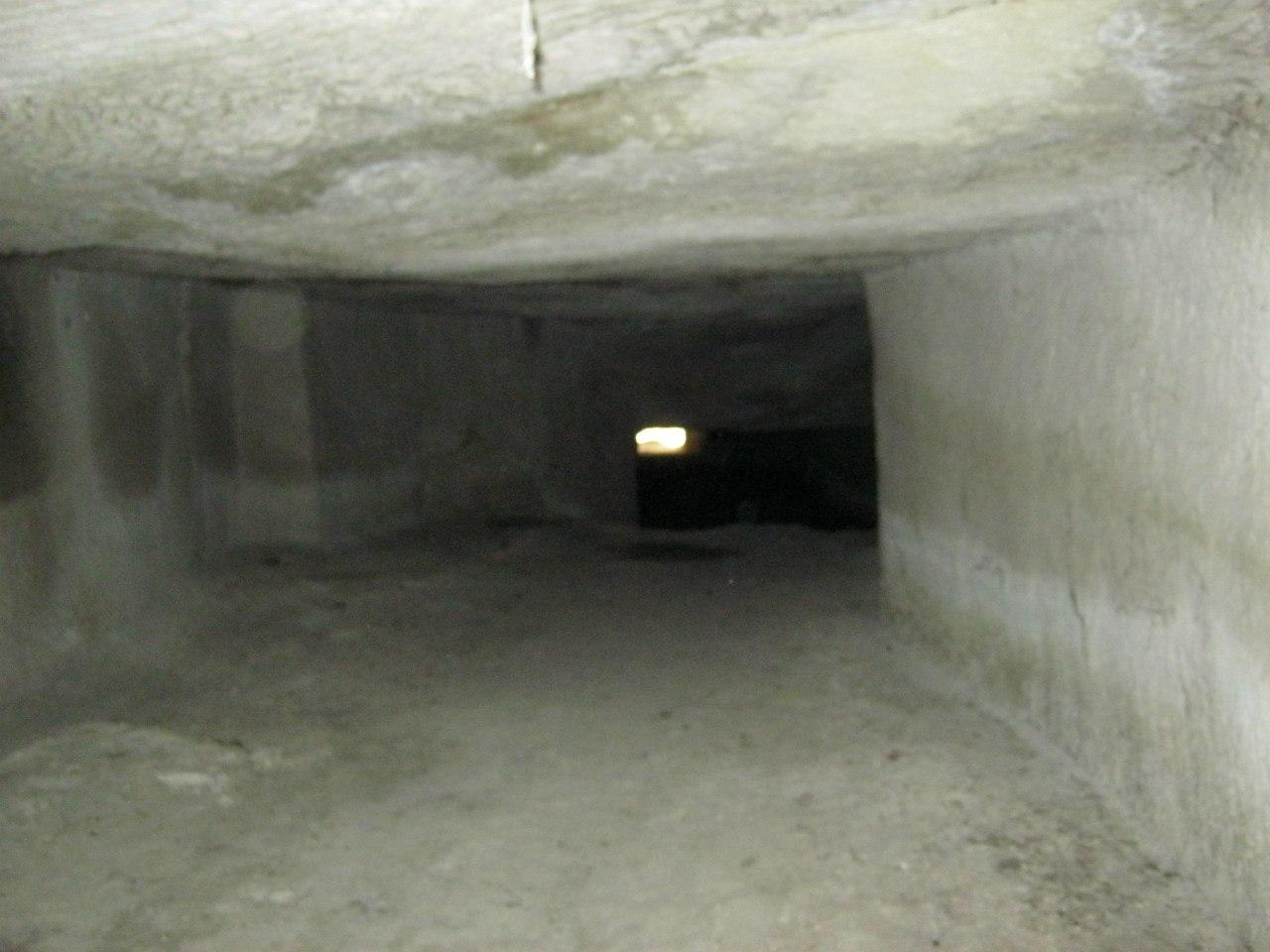 Широкий туннель в Каппадокии