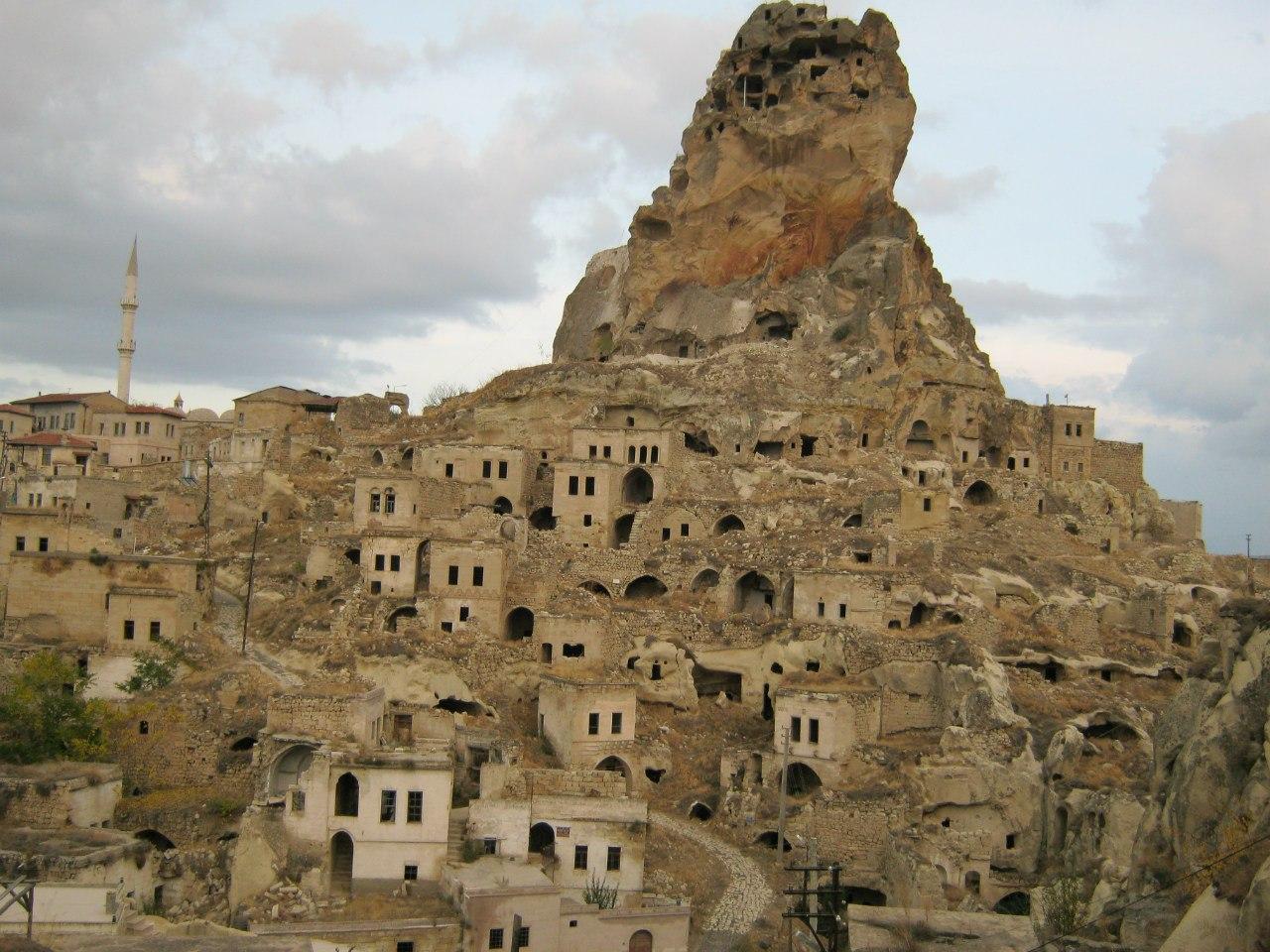 Центр села Ортахисар