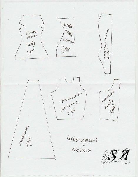 Выкройки одежды для кукол эвер афтер хай распечатать