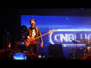 CNBLUE Melbourne Concert - English talk! 31/5/13