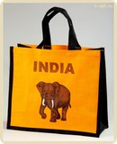 хозяйственная сумка Индия (India jute shopping bag) .