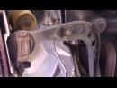процесс замены рычага передней подвески BMW е36.Тоже самое и на е30, е46.