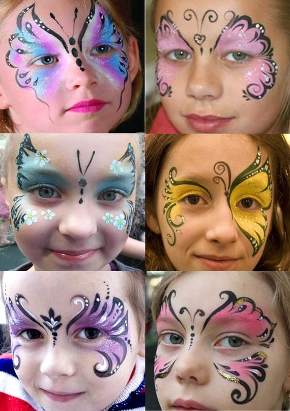Аквагрим своими руками идеи рисунков на лице