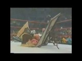 [#WrestlingToday]Bubba Ray Dudley Powerbomb Trish Through A Table(WrestlingToday)