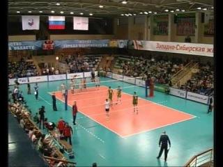 Плей-офф за 5-8 место   2 матч   Локомотив-Новосибирск vs Кузбасс (Кемерово)   26.4.13