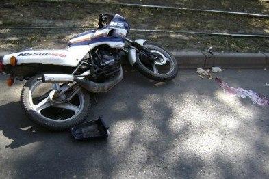 В городе Таганроге таксист сбил 16-летнего мотоциклиста