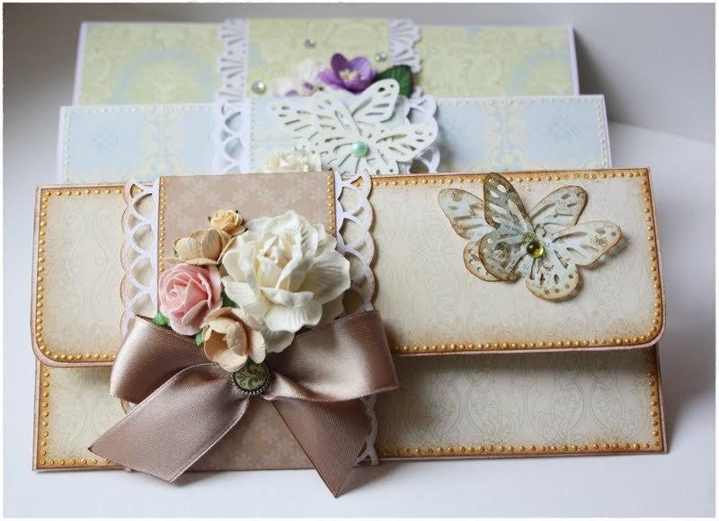 Открытка своими руками конверты
