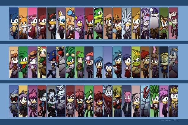 картинки соник икс новые персонажи