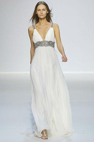 платье с цветными вставками