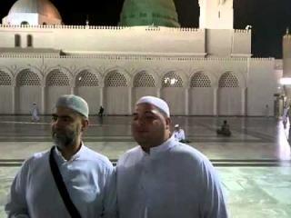 Mohammed Kheir & Khaled Atyar - LIVE IN MADINAH MADIH الحاج محمد يمدح رسول الله
