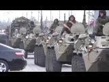 В город Пугачев Саратовской области ввели бронетехнику