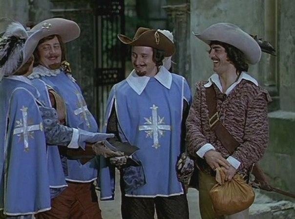 мультфильм советский дартаньгав и три пса мушкетера