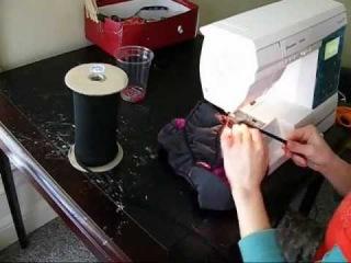 Jodi Lane Suits Basic Scrunchie Bikini Bottom