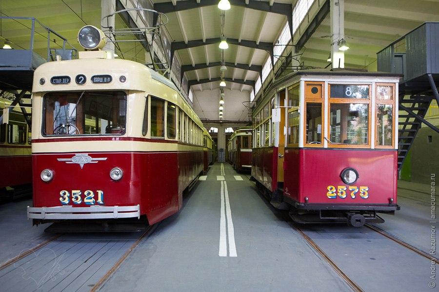 Музей трамваев в Санкт-Петербурге