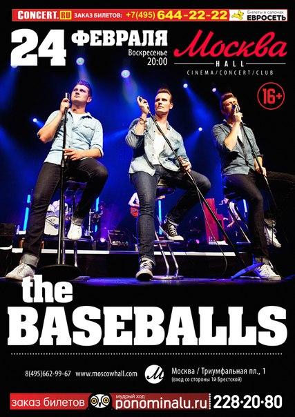 24.02.2013 The Baseballs в Moscowhall!!!