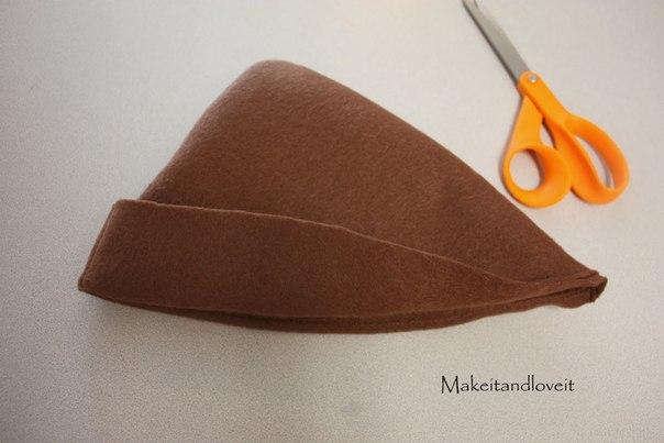Перо для шляпы своими руками