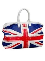 британский флаг брелок на телефон из бисера.
