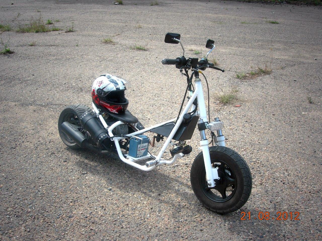 Самодельные скутера своими руками 30