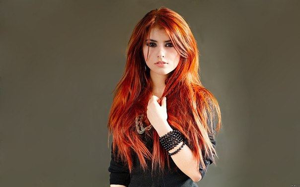 картинки красивые рыжие девушки