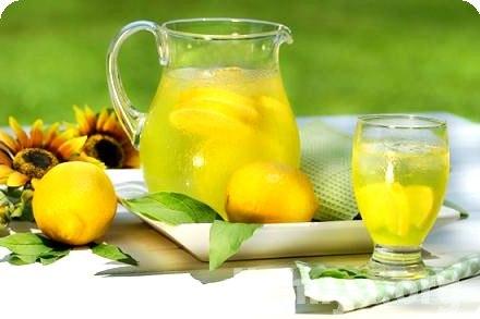 мед, лимон и сахар