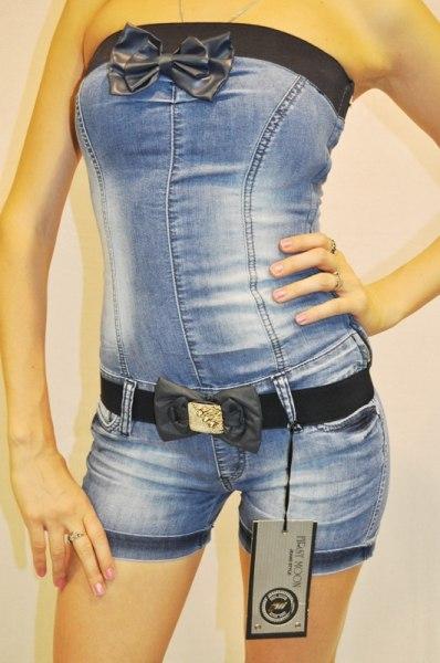 Комбинезон из старых джинсов своими руками