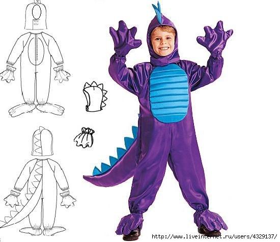 Новогодние костюмы для мальчиков животные своими руками