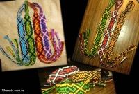 Самые красивые фенечки мира.  Уроки бисероплетения: бисероплетение на заказ.