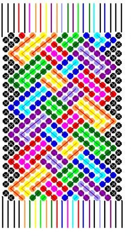 Только на схеме цветные