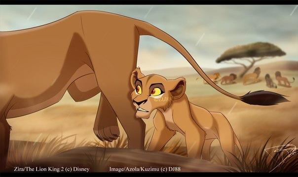 король лев 4 месть зиры картинки