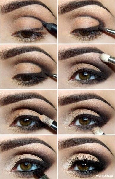 Дневной макияж для азиатских глаз