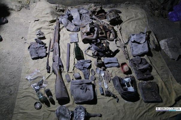 Военно-археологическая экспедиция - Аджимушкай-2013 LIjnKBJewAc