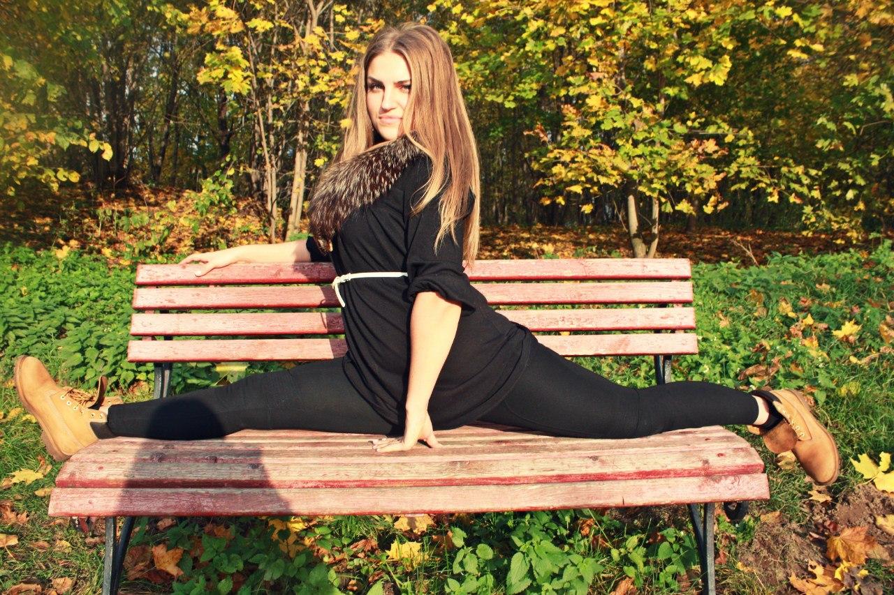 Фото красивых девушек на шпагате 1 фотография