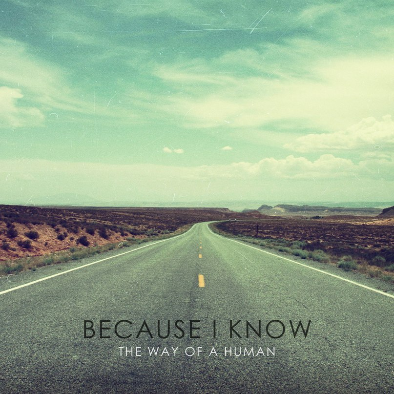 Because I Know  - The Way Of A Human [Single] (2012)