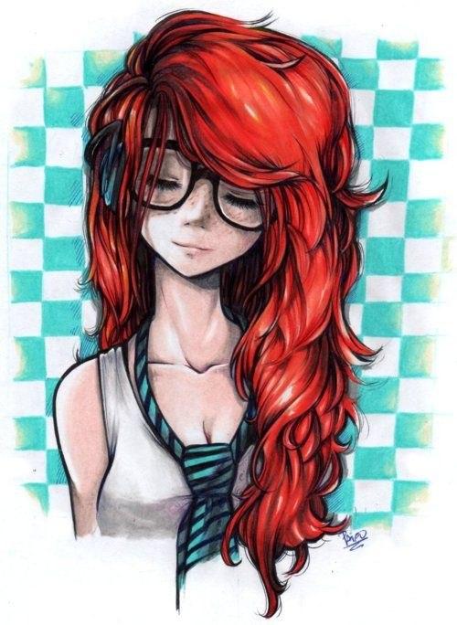 Фото мультяшные рыжие девушки фото 693-228