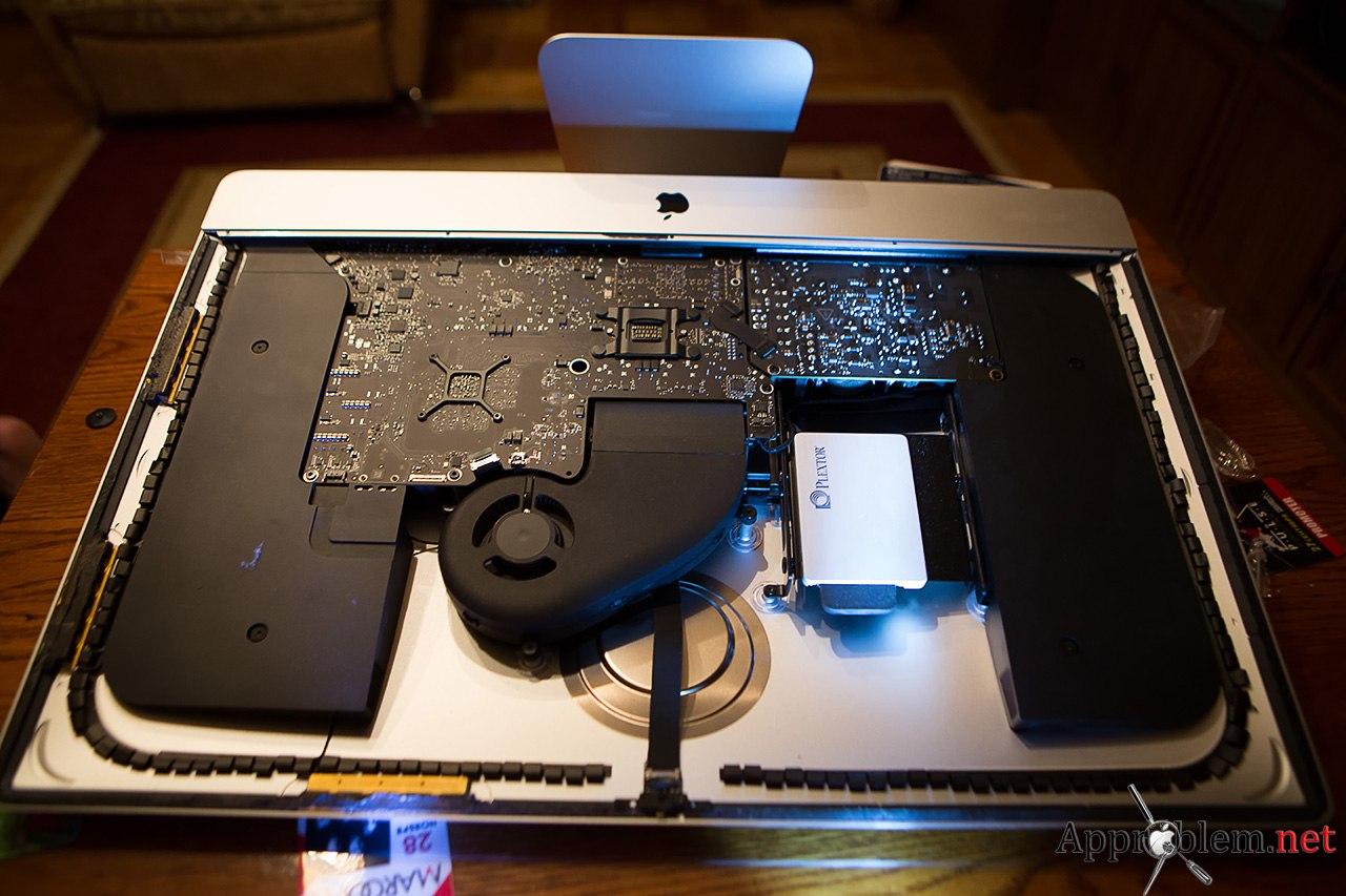 Заменить HDD на SSD в imac 2012 ремонт сервис