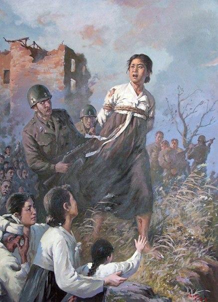 Корейская война в картинах корейских художников. EllPlL9q1c8