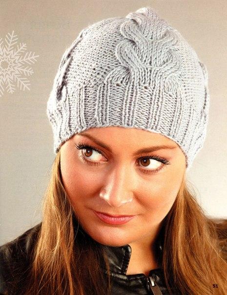 вязание шапок бесплатные схемы вязания спицами шапок для 5