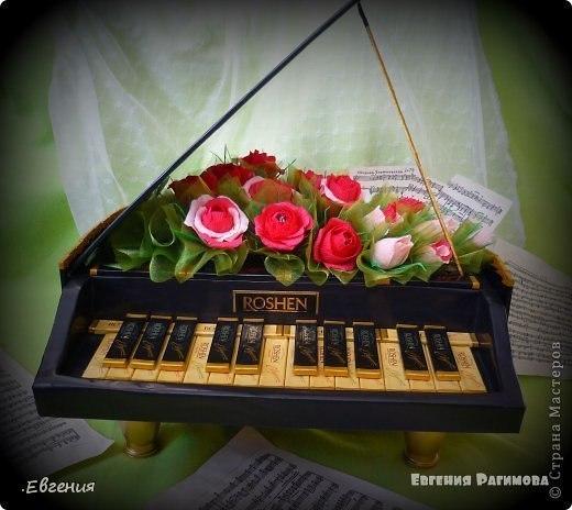 Как сделать пианино своими руками фото