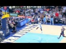 Hickson Blocks Antics Triple Slams it Down Hawks vs Nuggets November 7, 2013 NBA.