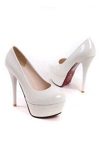 Белые Лакированные Туфли