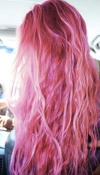 Розовые волосы vk