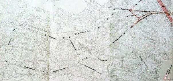 Самый короткий путь народного объезда тяжелого участка на Рябовском шоссе.  Нужно просто изменить схему движения и...